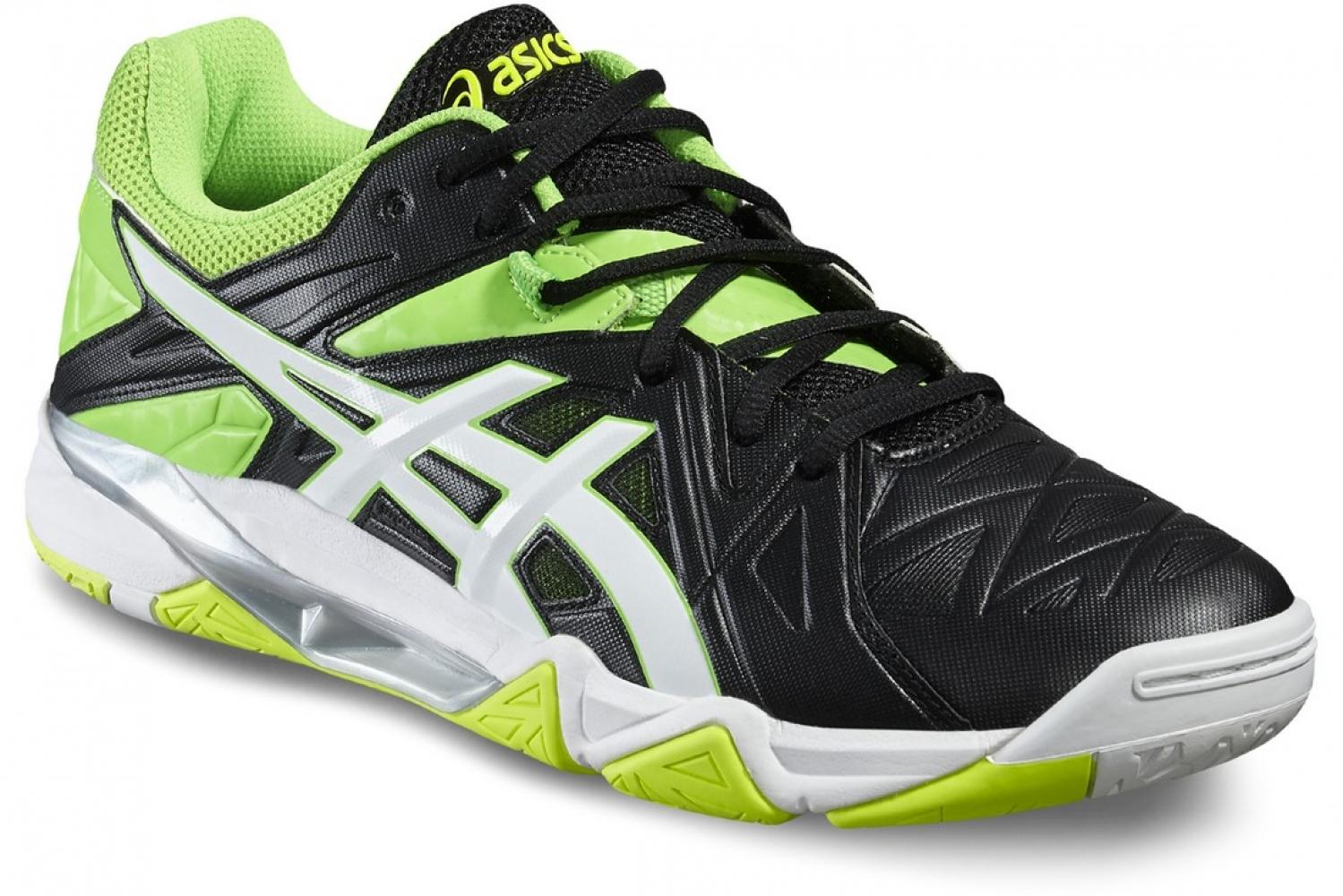 Волейбольные кроссовки Asics GEL-Sensei 6 B502Y-9001 купить в ... 1a04f5994d5