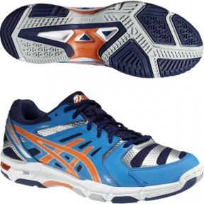 Волейбольные кроссовки ASICS GEL-BEYOND 4 (голубые)
