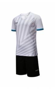 Футбольная форма Europaw 016 (бело-чёрн.)