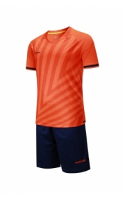 Футбольная форма Europaw 016 (корал.-син.)