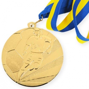 Медаль М4  футбол (70 мм)