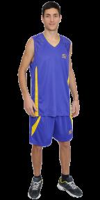Баскетбольная форма фиолетовая EUROPAW model:8909f