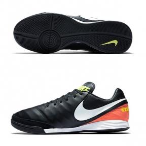 Футзалки Nike TIEMPO MYSTIC V IC Черные