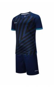 Футбольная форма Europaw 016 (тёмно-сине-бирюз.)