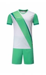 Футбольная форма Europaw 018 (бело-бирюзовая)