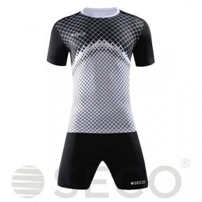 Футбольная форма SECO® Geometry Set черно-белая
