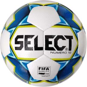 Мяч футбольный SELECT Numero 10 FIFA (015) бел/син.