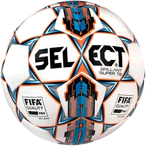 Мяч футбольный SELECT Brillant Super FIFA TB бело/синий