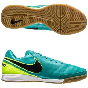 Футзалки Nike Tiempo Mystic V IC Бирюзовые