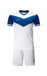 Футбольная форма Europaw 019 (бело-синяя)