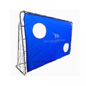 Футбольные ворота Yakimasport с экраном переносные (215x150)