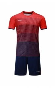 Футбольная форма Europaw 017 ( красно-т.синяя)