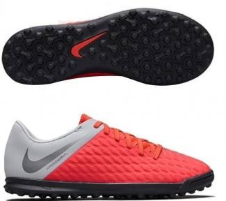 Детские Сороконожки Nike Hypervenom Phantomx 3 Club TF Jr AJ3790-600
