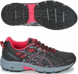 Женские кроссовки для бега ASICS GEL-VENTURE 6 Черные