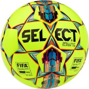 Мяч футбольный SELECT Brillant Super FIFA TB ((042) желто/красный)