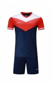 Футбольная форма Europaw 019 (т.сине-оранжевая)