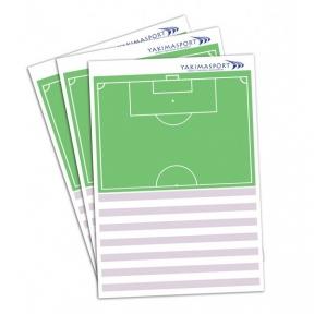 Планшет-блокнот отрывной Yakimasport формата А4 для футбольного тренера