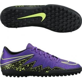 Сороконожки Nike Hypervenom Phelon II TF (сиреневые)