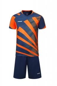Футбольная форма Europaw 023 т.сине-оранжевый