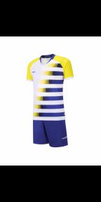 Футбольная форма Europaw 021 сезон 2019  (желто-синяя)