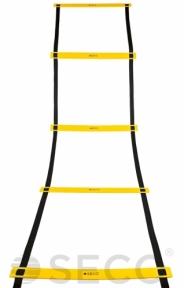 Тренировочная лестница координационная для бега SECO® 8 ступеней 4 м