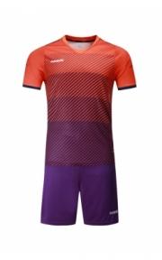 Футбольная форма Europaw 017 (оранжево-фиолетовая)