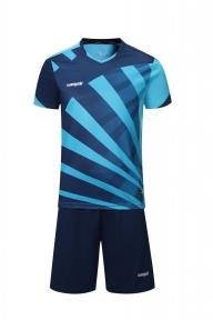 Футбольная форма Europaw 023 т.сине-голубая
