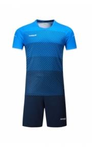 Футбольная форма Europaw 017( голубо-т.синяя)