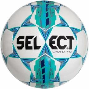 Мяч футбольный SELECT Campo Pro ((320) бел/зелен)
