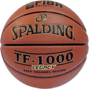 Мяч баскетбольный Spalding TF-1000 Legacy FIBA 74-450Z (НЕТ В НАЛИЧИИ)