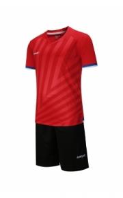Футбольная форма Europaw 016 (красно-чёрн.)