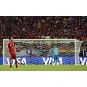 Сетка для футбольных ворот Yakimasport, сота PRO
