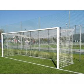 Сетка для футбольных ворот PROFESSIONAL Yakimasport, белая (толщ. 4 мм)