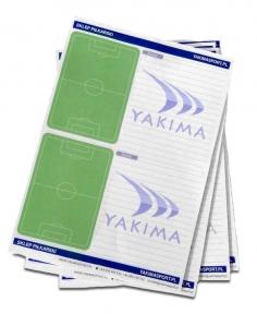 Тактический блокнот тренера для футбола YAKIMASPORT