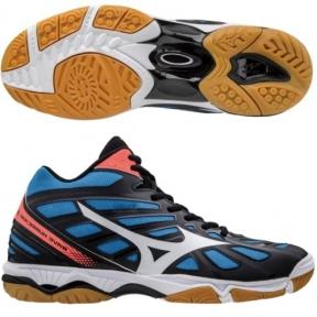 Волейбольные кроссовки Mizuno Wave HURRICANE 3 MID V1GA1745-01