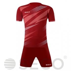 Футбольная форма SECO® Geometry Set черно-красная