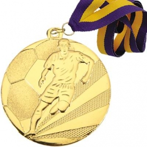 Медаль футбол (50 мм)