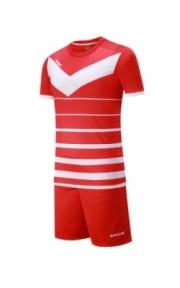 Футбольная форма Europaw 014-(красно-бел.)
