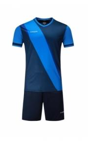 Футбольная форма Europaw 018( т.сине-голубая)