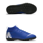 Детские сороконожки Nike Mercurial Superfly 6 Academy TF AH7344-400 JR