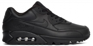 Кроссовки Nike Air Max 90 Leather Black 302519-001